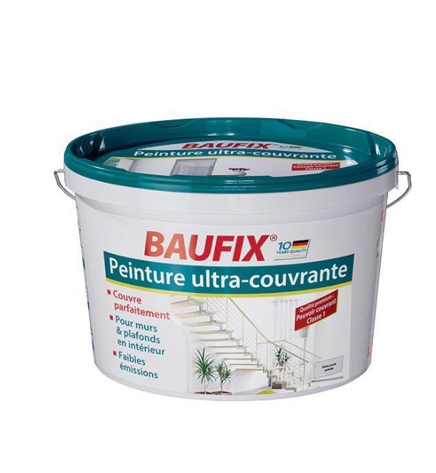 Peinture ultra couvrante Baufix - 10L