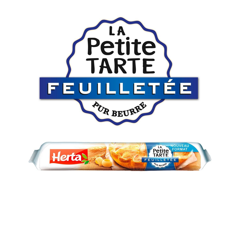 Lot 2 pâtes Herta La Petite Tarte Feuilletée Pur Beurre - 150g (via carte de fidélité + BDR)