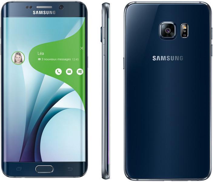 "Smartphone 5.7"" Samsung Galaxy S6 Edge Plus - 32 Go, Noir"