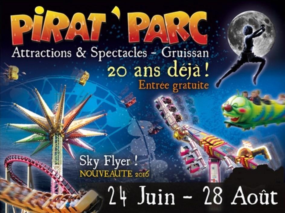 Entrée au parc Pirat'Parc en Week end à 16.15€ et en semaine