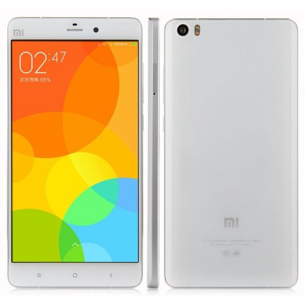 "Smartphone 5.7"" Xiaomi Mi Note (3 Go de RAM, 16 Go) - blanc ou noir"