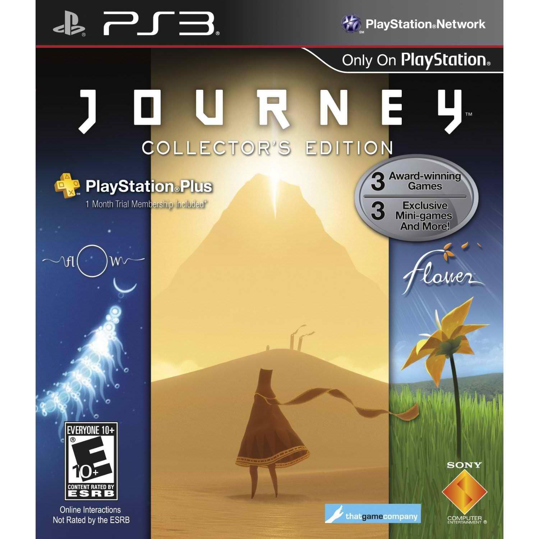Journey Collector sur PS3 (Journey + Flow + Flower)