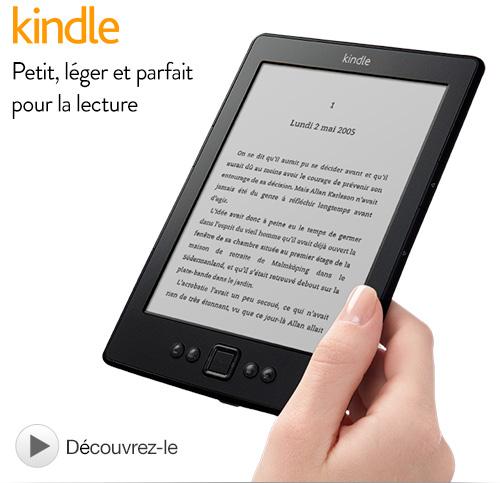 """-15€ sur tous les Kindle. Ex : Liseuse Kindle 6"""" Wi-Fi"""