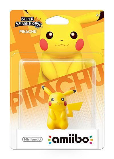 Sélection de figurines Nintendo Amiibo en promotion - Ex : Pikachu