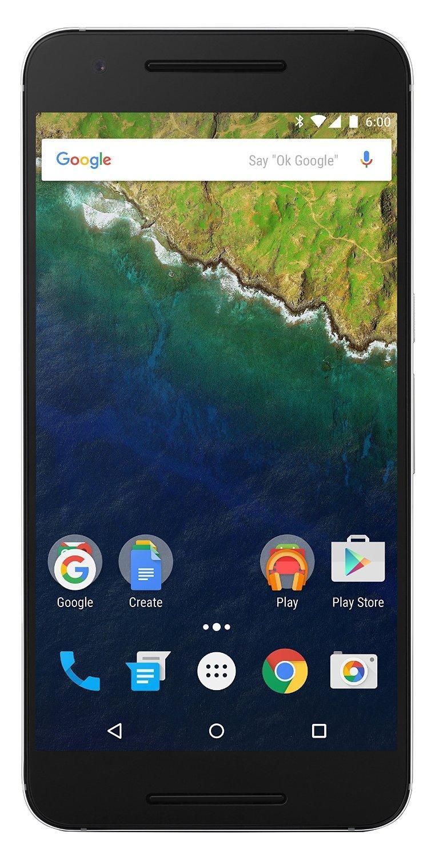 """Smartphone 5.7"""" Nexus 6P 128Go - Givre"""