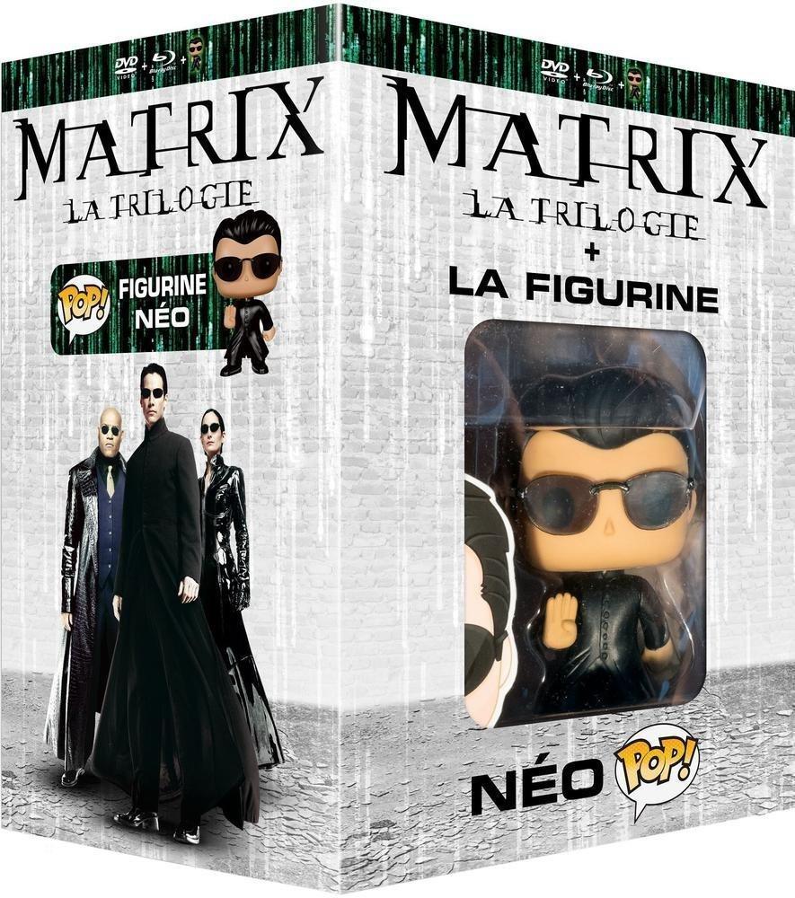 Trilogie Matrix en Blu-Ray + Figurine Pop! (Funko)