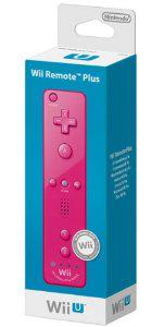 Télécommande pour Wii/Wii U Plus Rose