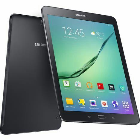 "Tablette Samsung Galaxy Tab S2 9,7"" 32Go - Wifi - Noir (via ODR 50€)"