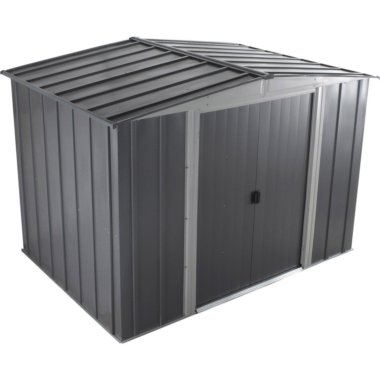Abri de jardin Lm 106 en métal 5m²
