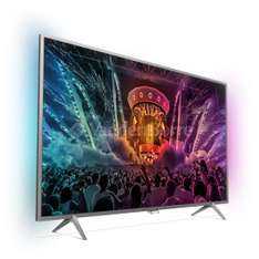"TV LED 43"" Philips 43PUS6401 4K Ambilight avec Android TV"