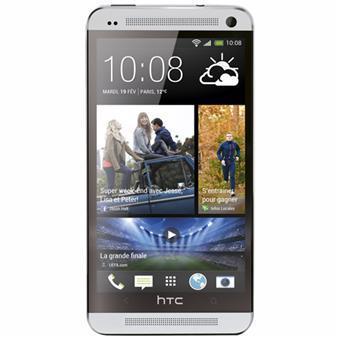 "Smartphone 4.7"" HTC One Silver 4G - 32 Go"