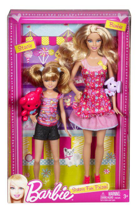 Poupée : Barbie et Stacie au Parc d'attraction