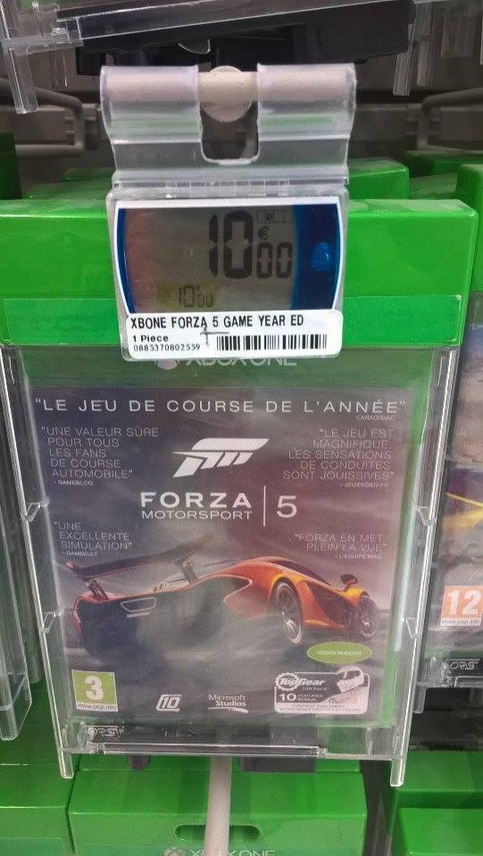 Forza Motorsport 5 Goty edition sur Xbox One