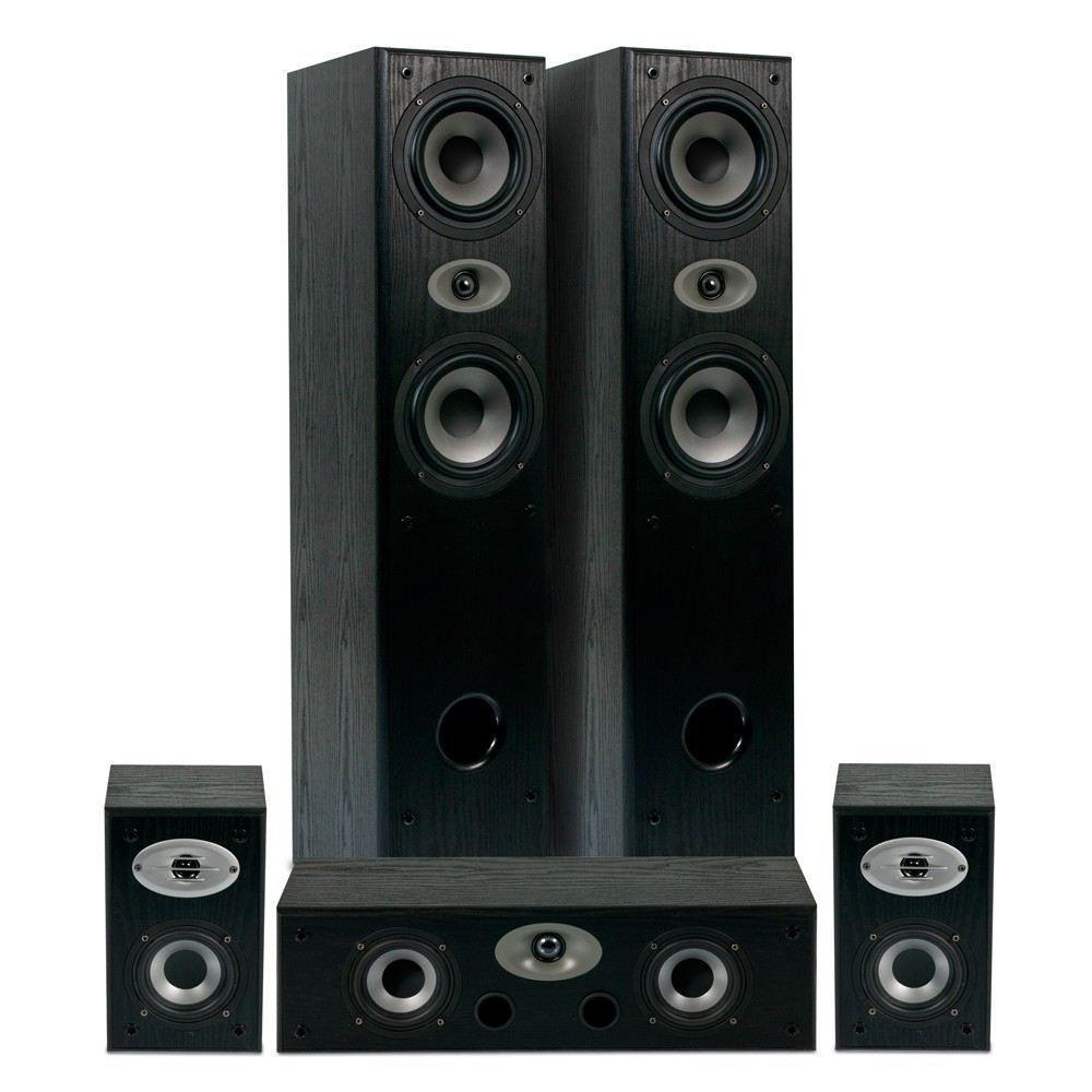 Sélection de Kits Home-Cinéma 5.0 Eltax en Solde - Ex: Experience Bass-reflex (Noir) + 5,95€ en SuperPoints