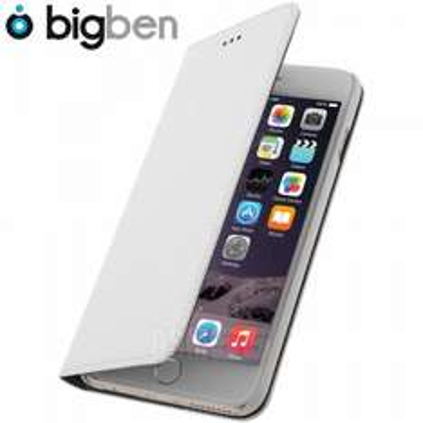 Etui Folio Flap Case Bigben - Blanc pour Apple iPhone 6 Plus