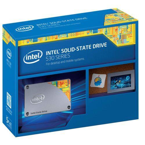 "SSD interne 2.5"" Intel 530 Series (Mémoire MLC) - 80 Go"