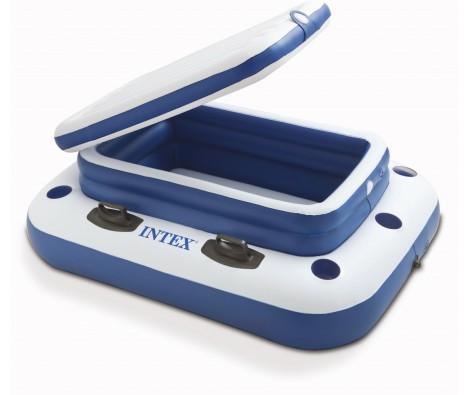 Glacière gonflable Intex pour piscine - XXL