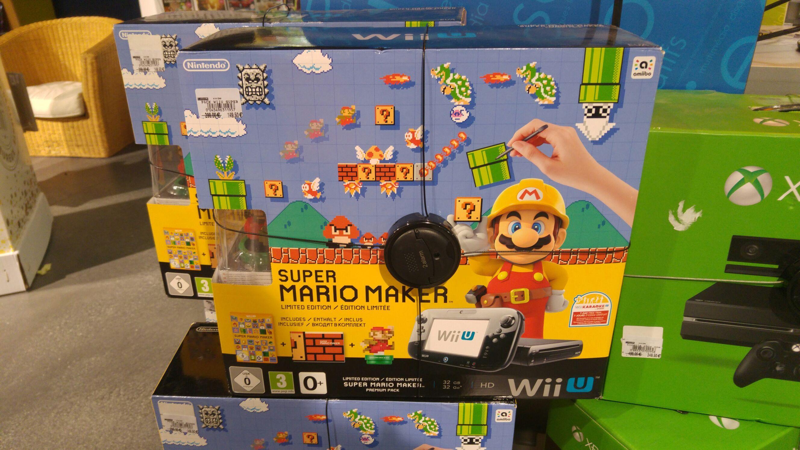 Sélection de produits en promotion - Ex : Console Nintendo Wii U Super Mario Maker 32 Go