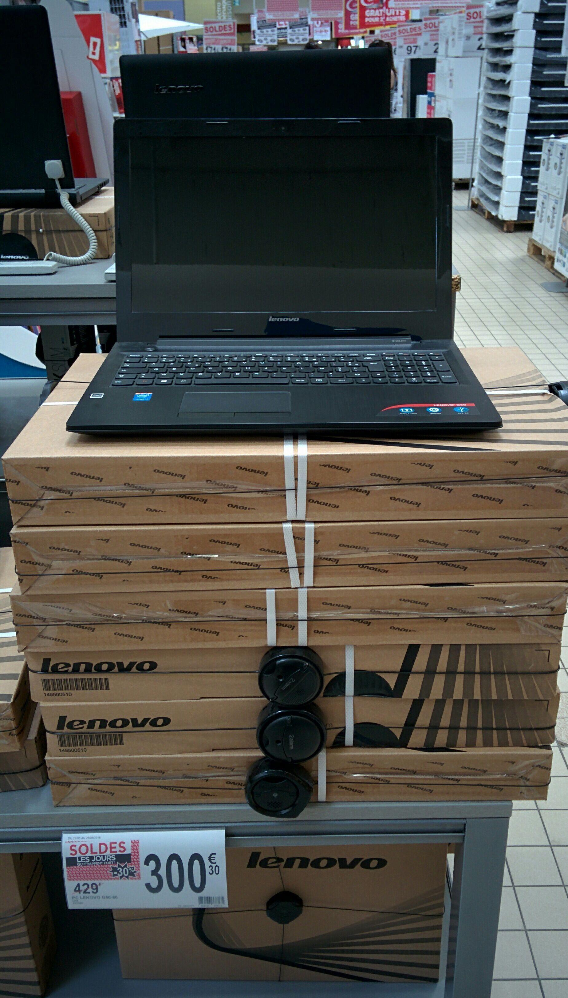 "PC Portable 15,6"" Lenovo G50-80 - HD, i3-4005U, R5 M330, RAM 4 Go, HDD 1 To, Windows 8.1"