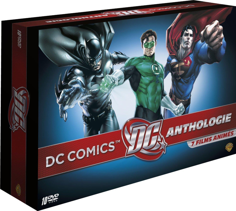 Coffret DVD DC Comics Anthologie - 7 films animés (Edition Limitée)