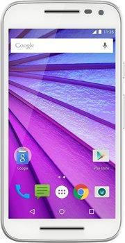 """Smartphone 5"""" Motorola Moto G - 3ème génération, blanc (via ODR de 20€)"""