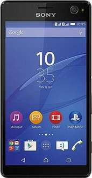 "Smartphone 5.5"" Sony Xperia C4 (dual) - 16 Go, noir"