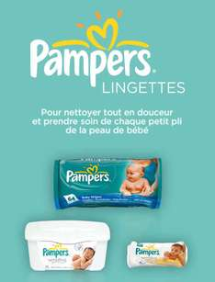 [Optimisation] Lingettes bébés Pampers