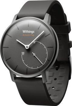 Montre connectée Withings Activité Pop (noir) + 2 bracelets (via ODR de 50€)