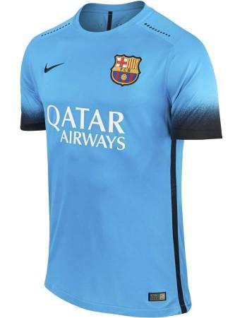 Sélection de maillots de football 2015/2016 - Ex : Maillot FC Barcelone Third Authentic