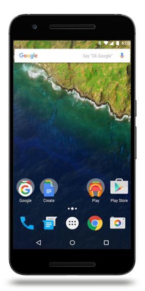 "Smartphone 5.7"" Huawei Nexus 6P - 32 Go"