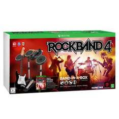 Pack MadCatz Rock Band 4 + Band in a Box (Guitare, Micro et Batterie) pour  Xbox One
