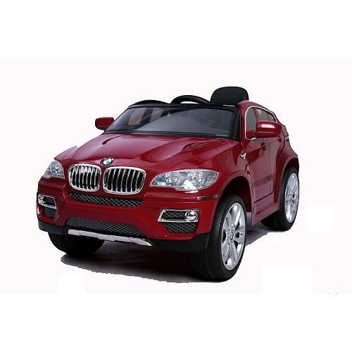 Voiture électrique  BMW X6 - 6 V, rouge