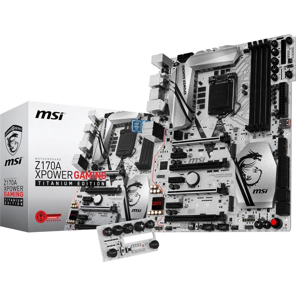 Carte mère MSI Z170A XPower Gaming Titanium edition + Waterblock CPU Bitspower (via ODR de 55€ + ODR waterblock)