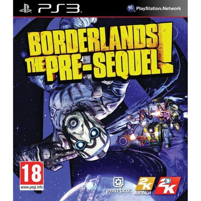 Jeu Borderlands: The Pre-Sequel sur PS3