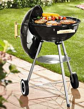 Barbecue charbon Florabest 48 x 86 x 57 cm.