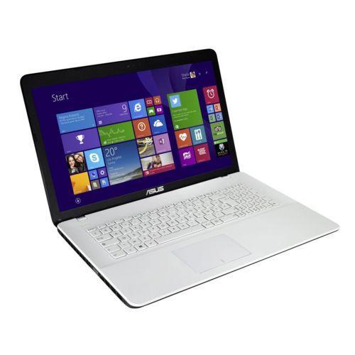 """PC portable 17.3"""" Asus K751LJ-TY383T (i3-4005U, 920M, 6 Go de RAM, 1 To + 128 Go en SSD, blanc)"""
