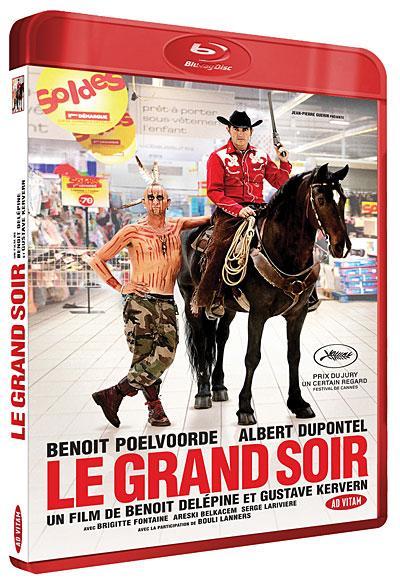 Sélection de Blu-ray et DVD en promotion - Ex : Blu-ray Le Grand Soir