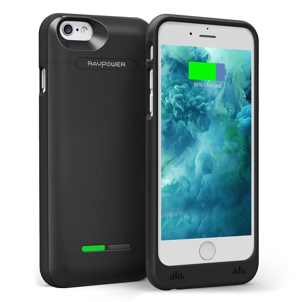 Coque batterie RAVPower pour iPhone 6/6S - 3000 mAh
