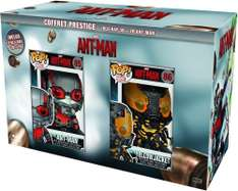 Coffret Blu-ray 3D Ant Man + Figurines Pop Ant-man & Yellow Jacket