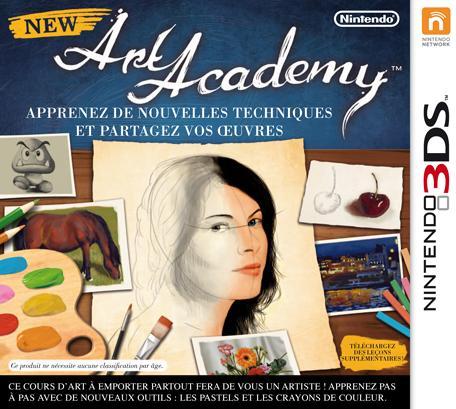 Jeu New Art Academy sur Nintendo 3DS