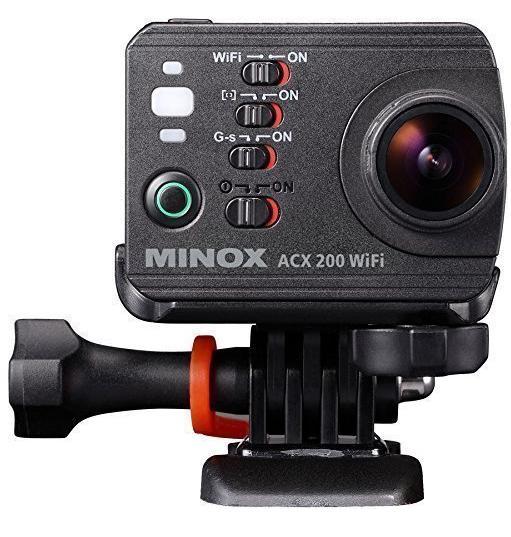 "Camera embarquée Minox ACX 200 Wifi - 2"" - Zoom optique 10x Noir"