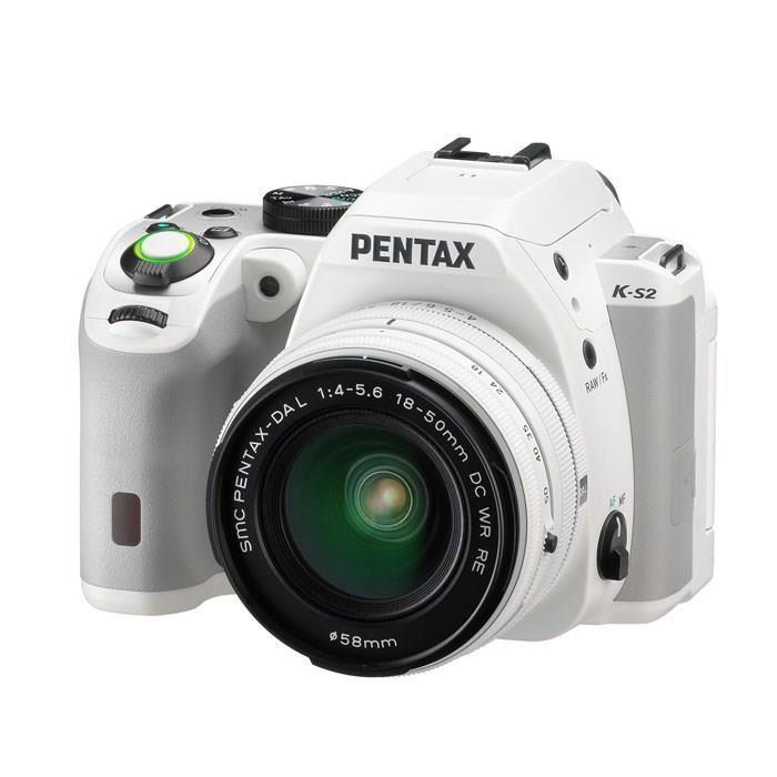 Reflex Pentax K-S2 Blanc + Objectif 18-50 WR