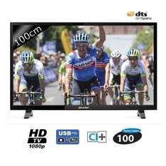 "TV 40"" Sharp LC-40CFE4042E - Full HD (3 HDMI / 2 ports USB)"