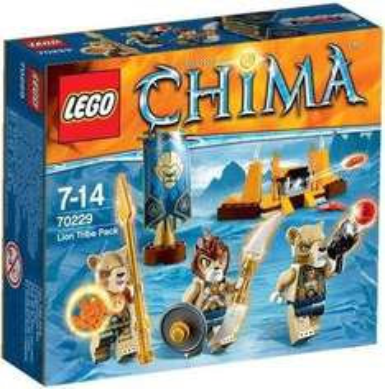 Jouet Lego Legends of Chima - La tribu Lion (70229)