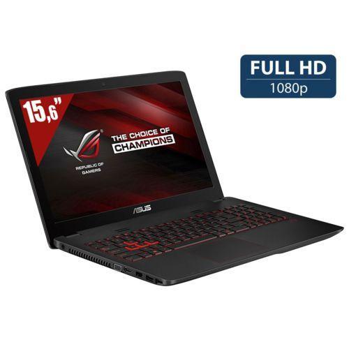 "PC portable 15.6"" full HD Asus ROG GL552JX-DM343T (i5-4200H, GTX950M, 6 Go de RAM, 1 To + 128 Go en SSD)"