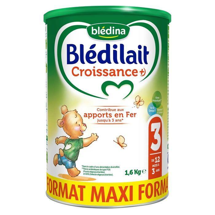 Lait de croissance en poudre Blédina Blédilait - Format Maxi