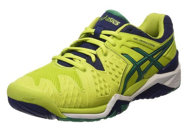 Chaussures Asics Asics Gel-Resolution 6 - Vert (Tailles 41,5 à 48)