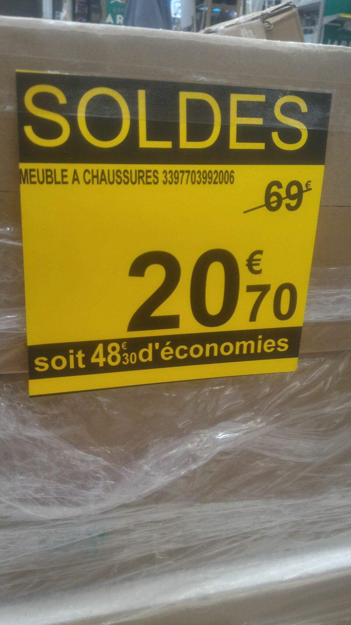 Meuble à chaussures Demeyere 399200