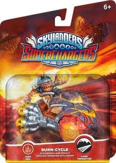 Sélection de figurines Skylanders: SuperChargers en promotion - Ex : Burn Cycle