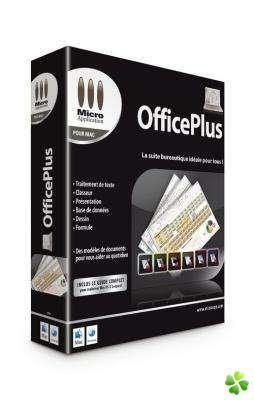 Logiciel pour MAC - Micro Application OfficePlus